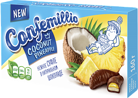 Sweets TM Confemillio with coconut and pineapple flavors